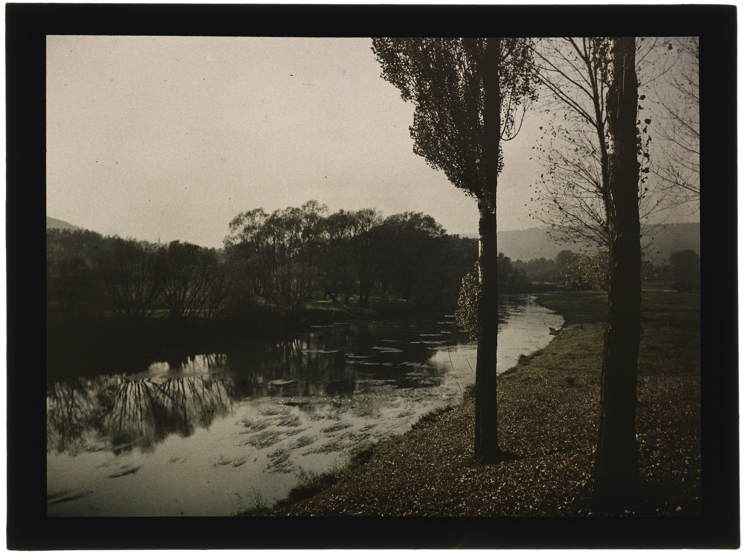 La rivière dans la campagne