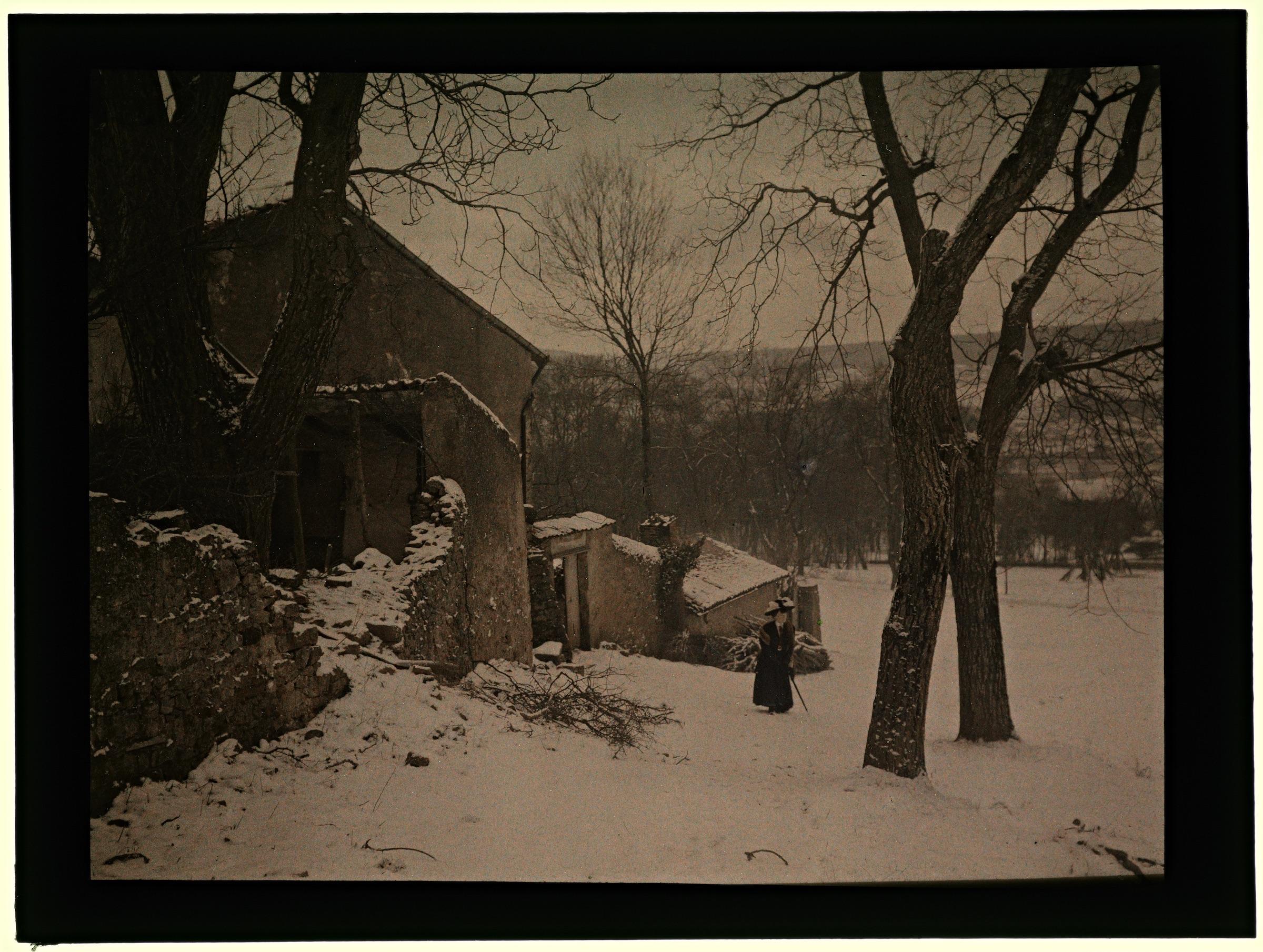 Ferme à Pixérécourt enneigé