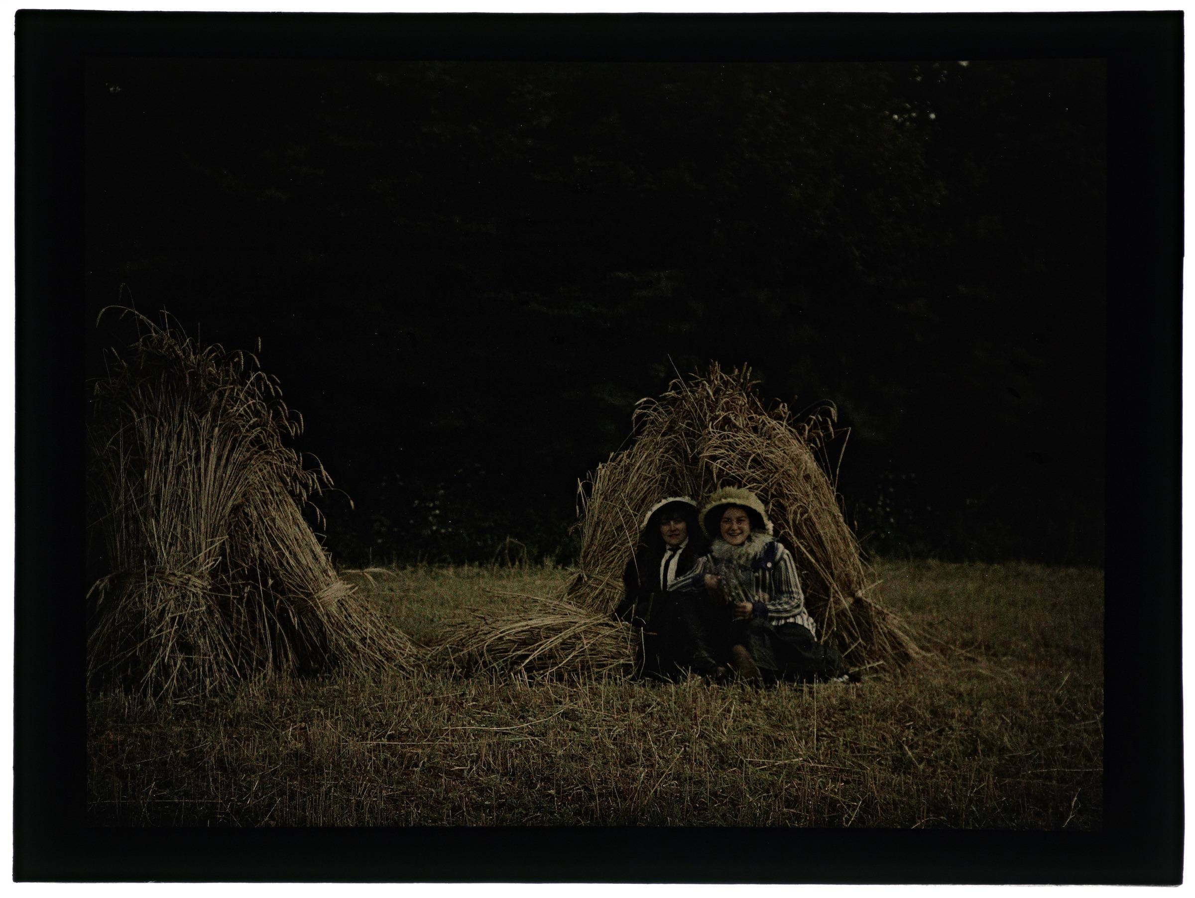 Femmes aux gerbes de blé