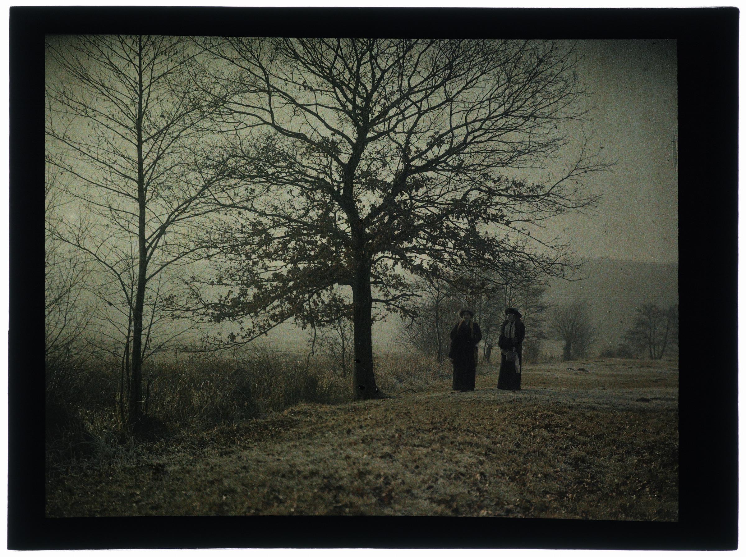 Deux femmes dans la campagne